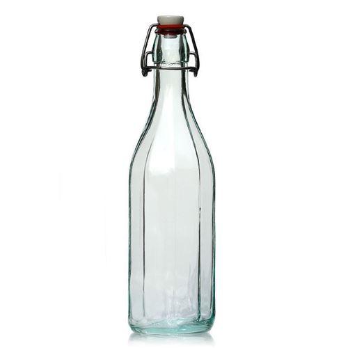 "750ml glazen beugelsluiting fles ""Bravo'"""