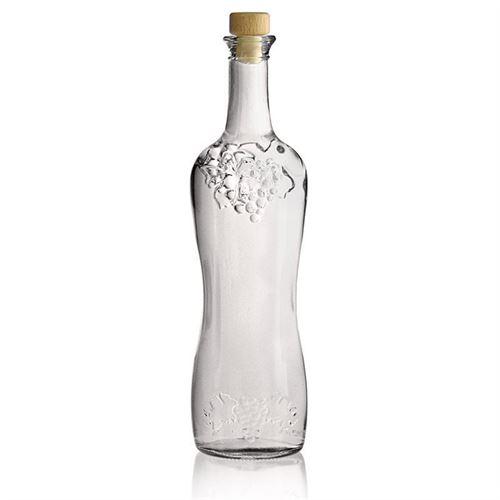 750ml druiventros relief fles