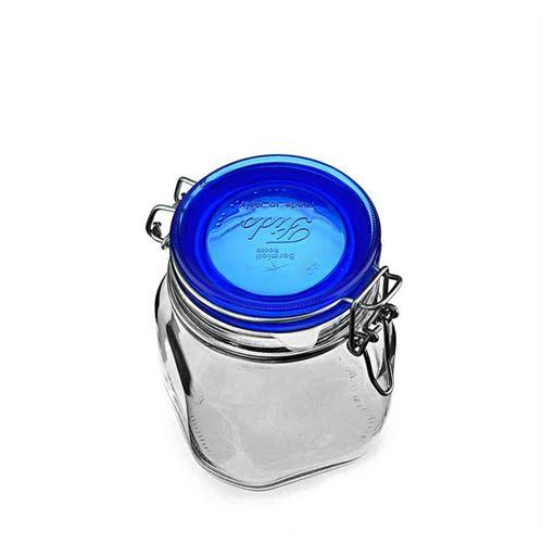 """750ml pot avec fermeture mécanique """"Rocco Blue"""""""