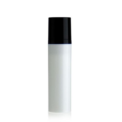 75ml Airless Dispenser white/black