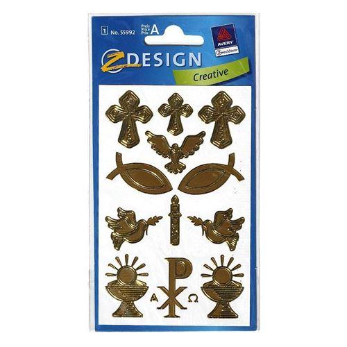"Adesivi decorativi ""Simboli cristiani"""