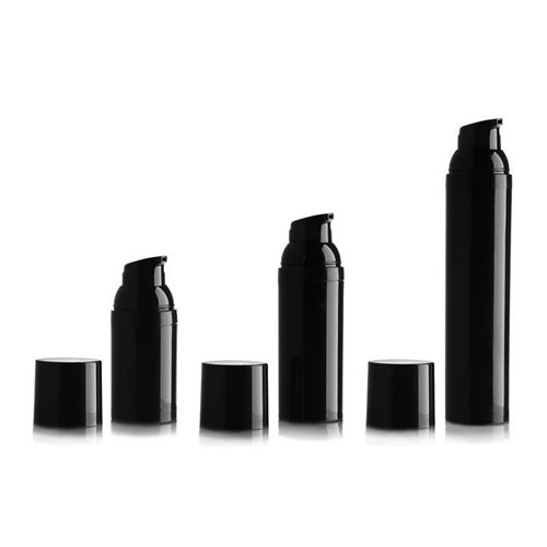 "100ml Airless Dispenser ""Beautiful Black"""