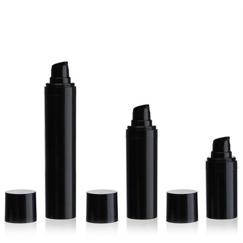 "15ml Airless Dispenser MICRO ""Beautiful Black"""