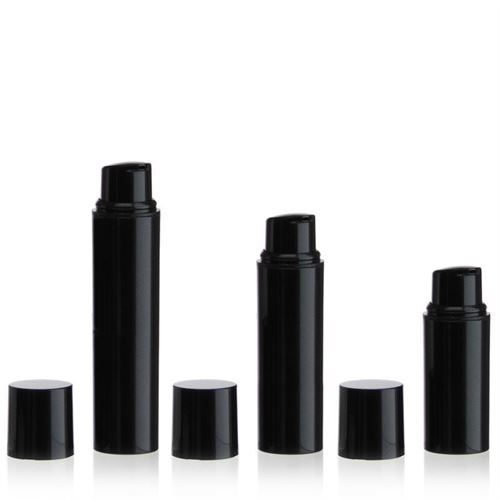 "5ml Airless Dispenser NANO ""Beautiful Black"""