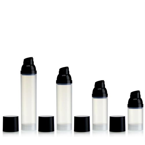 100ml Airless Dispenser natural/black