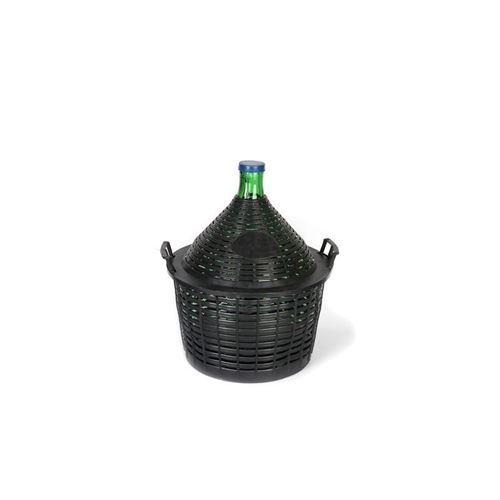 Ballonflaske 20l med plastkurv