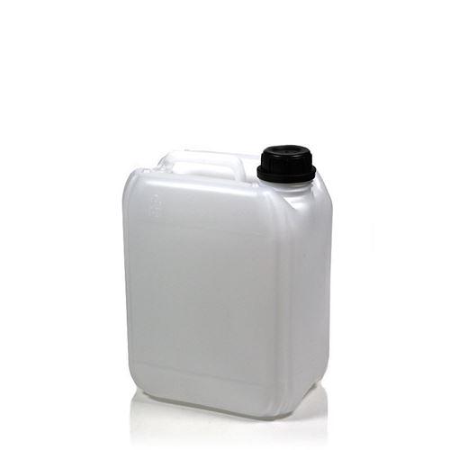 Bidone da 10 litri nel colore natura con licenza ONU