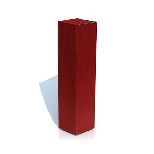 Boîte cadeau rouge bordeaux