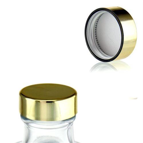 Bouchon à vis GPI33 couleur d`or métallique
