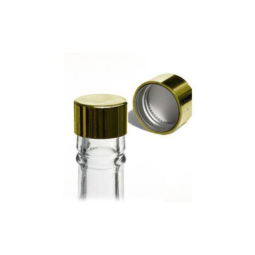 Bouchon à vis PP28 couleur d`or