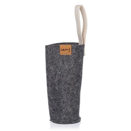 CARRY Sleeve gris para 700ml botella para beber