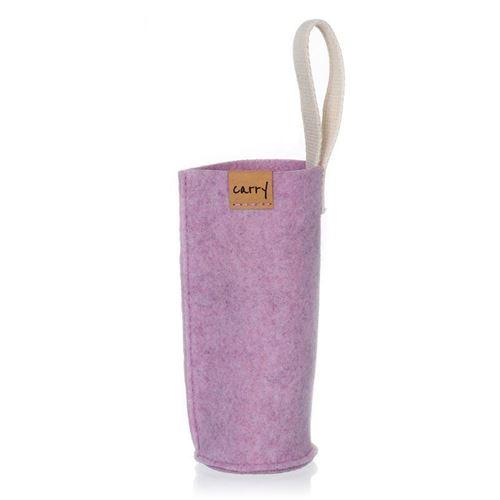 CARRY Sleeve magnolie für 700ml Glastrinkflasche