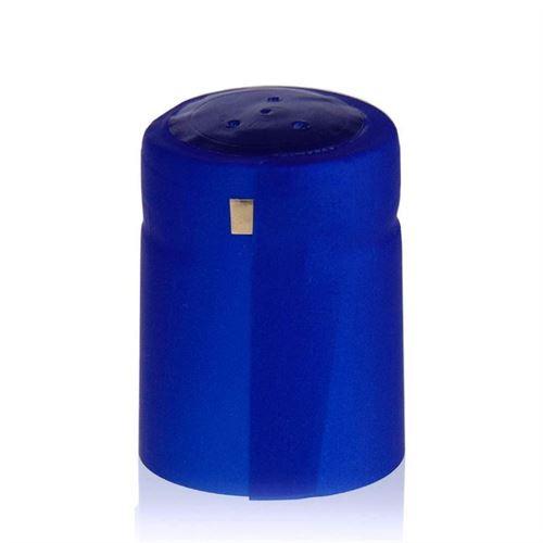 Cápsula contráctil Tipo M metálico azul