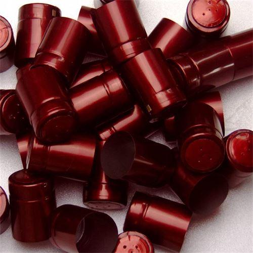 Cápsula contráctil Tipo M rojo Bourdeaux