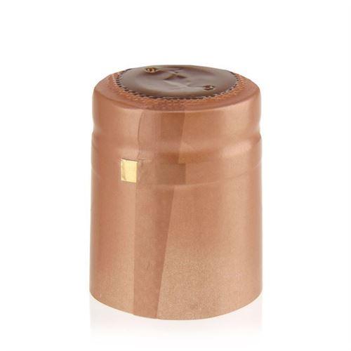 Capsule thermo-rétrécissante typ M ocre brun