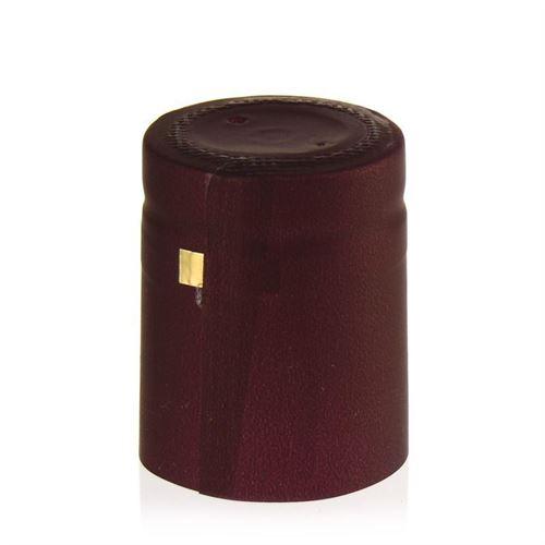 Capsule thermo-rétrécissante typ M rouge foncé