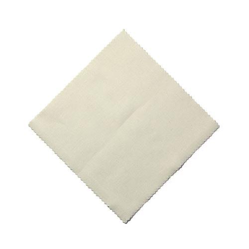 Cubiertita de tela color natural 12x12cm incl. lazo de tejido