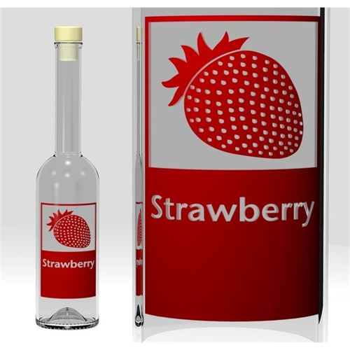 "500ml Opera ""Strawberry"""