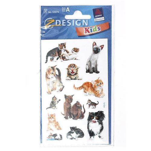 """Etikett """"Katzenkinder"""""""