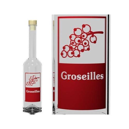 """500ml Opera """"Groseilles"""""""