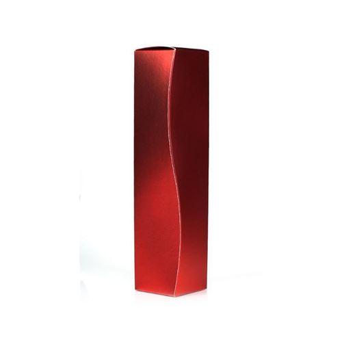 Gaveæske, rød metallic
