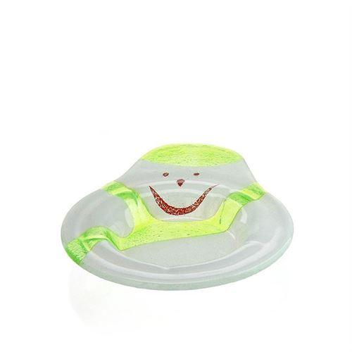 Snemandskål i glas grøn