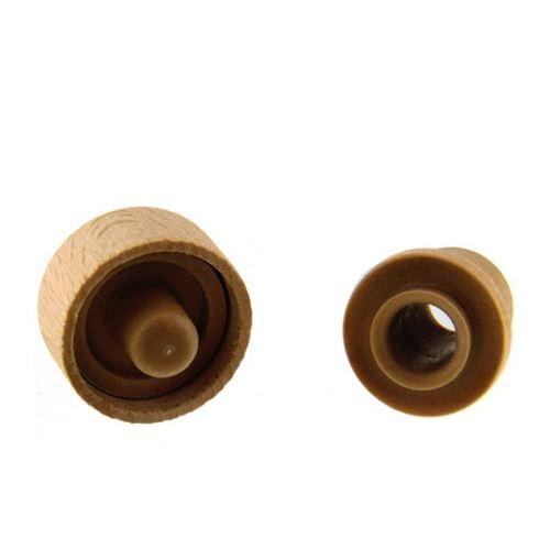 Tappo in sughero legno TIPO M (19 mm) con un beccuccio