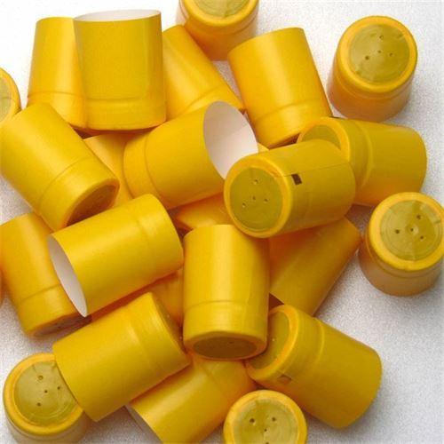 Krimp capsule Typ M - geel