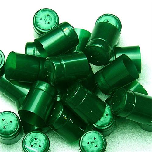 Krympekapsel, type M, smaragdgrøn