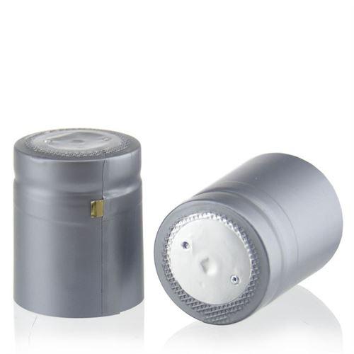 Krympekapsel, type M, sølvfarvet
