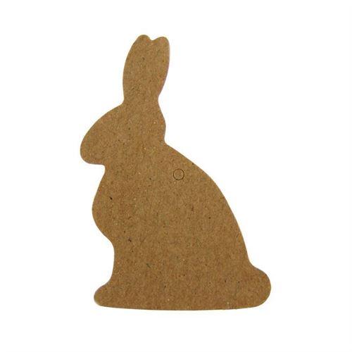 """Etichetta a ciondolo in carta """"Coniglio"""""""