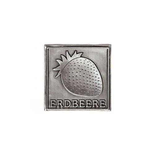 "Metalletikett ""Erdbeere"""