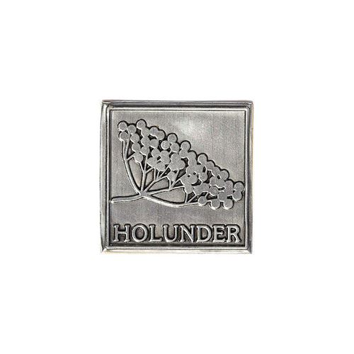 "Metalletikett ""Holunder"""