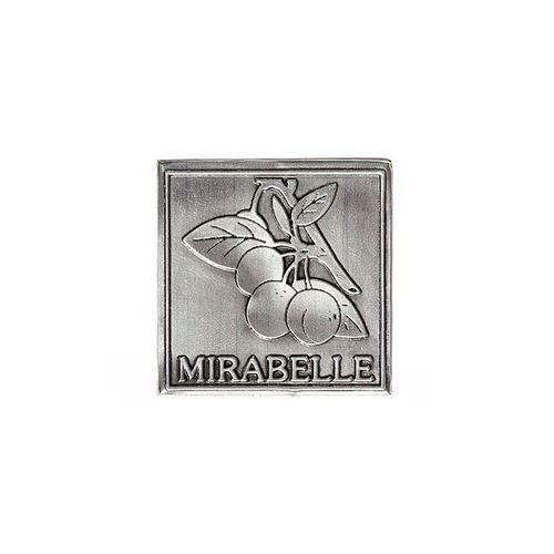 """Metalletikett """"Mirabelle"""""""