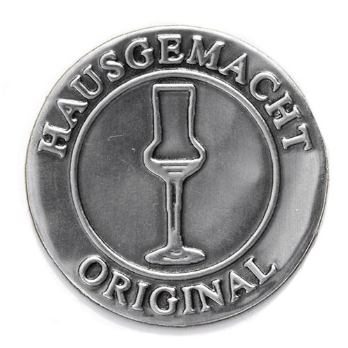 "Metalletikett ""Original Hausgemacht"""