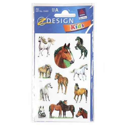 "Etiket ""Paarden"""