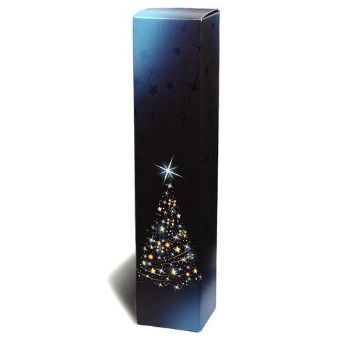 """Presentkartong """"X-Mas tree"""", blå"""