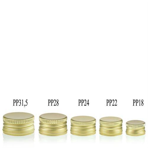Bouchon à vis PP22 doré