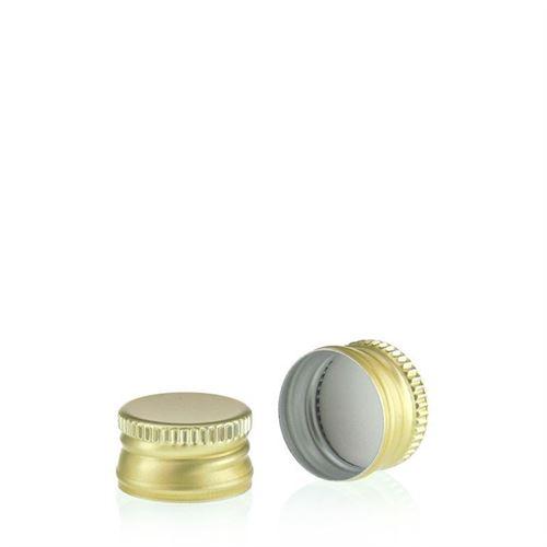 Schroefdeksel PP18 goud