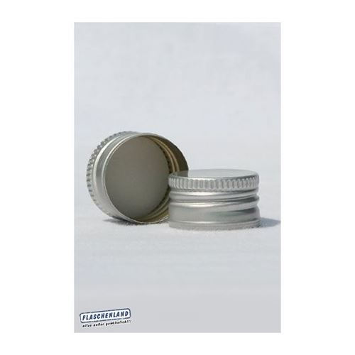Schroefdeksel PP18 silver
