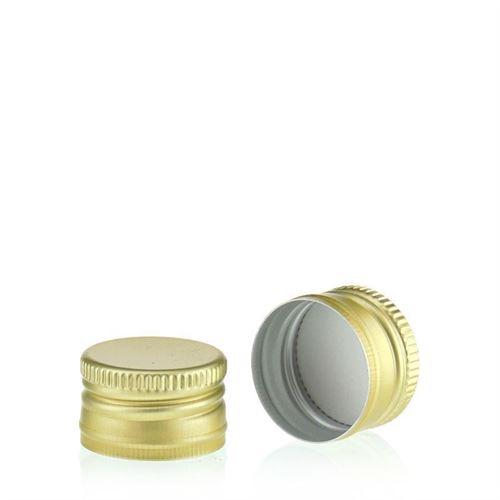 Schroefdeksel PP22 goud
