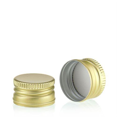 Schroefdeksel PP28 goud
