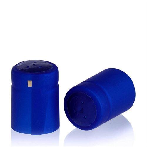 Schrumpfkapsel Typ M blau-metallic