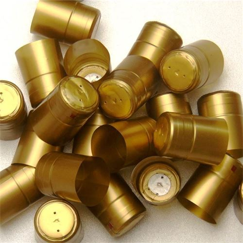 Schrumpfkapsel Typ M goldfarben