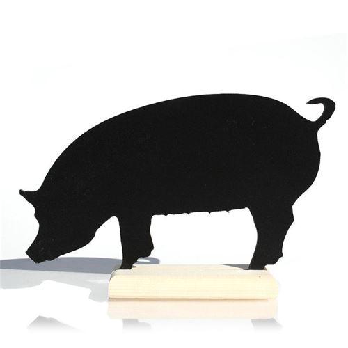 """Tableau sur pied """"cochon"""""""