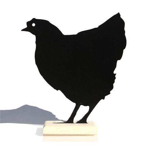 """Tableau sur pied """"poulet"""""""