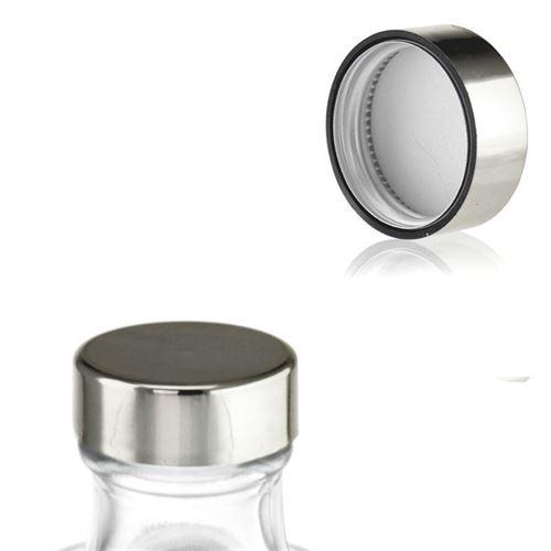 Tappo a vite GPI33 nel colore argento metallico