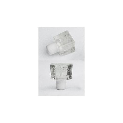 Tappo in plastica a forma di  ghiaccio tipo M (bianco ghiacciato