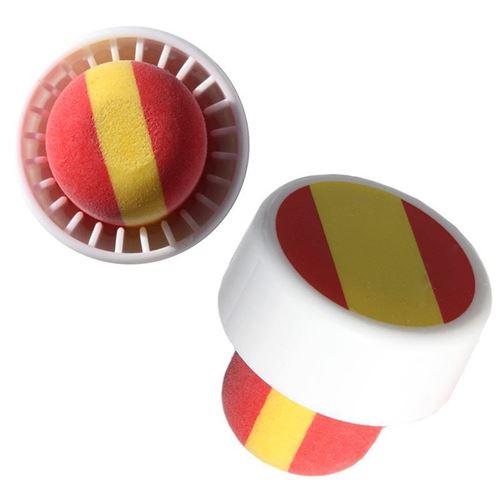 """Tappo in sughero nei colori nazionali della """"Spagna"""" tipo M"""