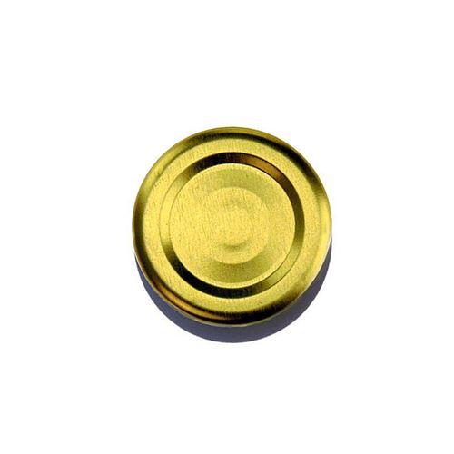 Twist Off låg, 43mm, gyldent